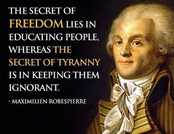 The Secret of Freedom and the Secret of Tyranny