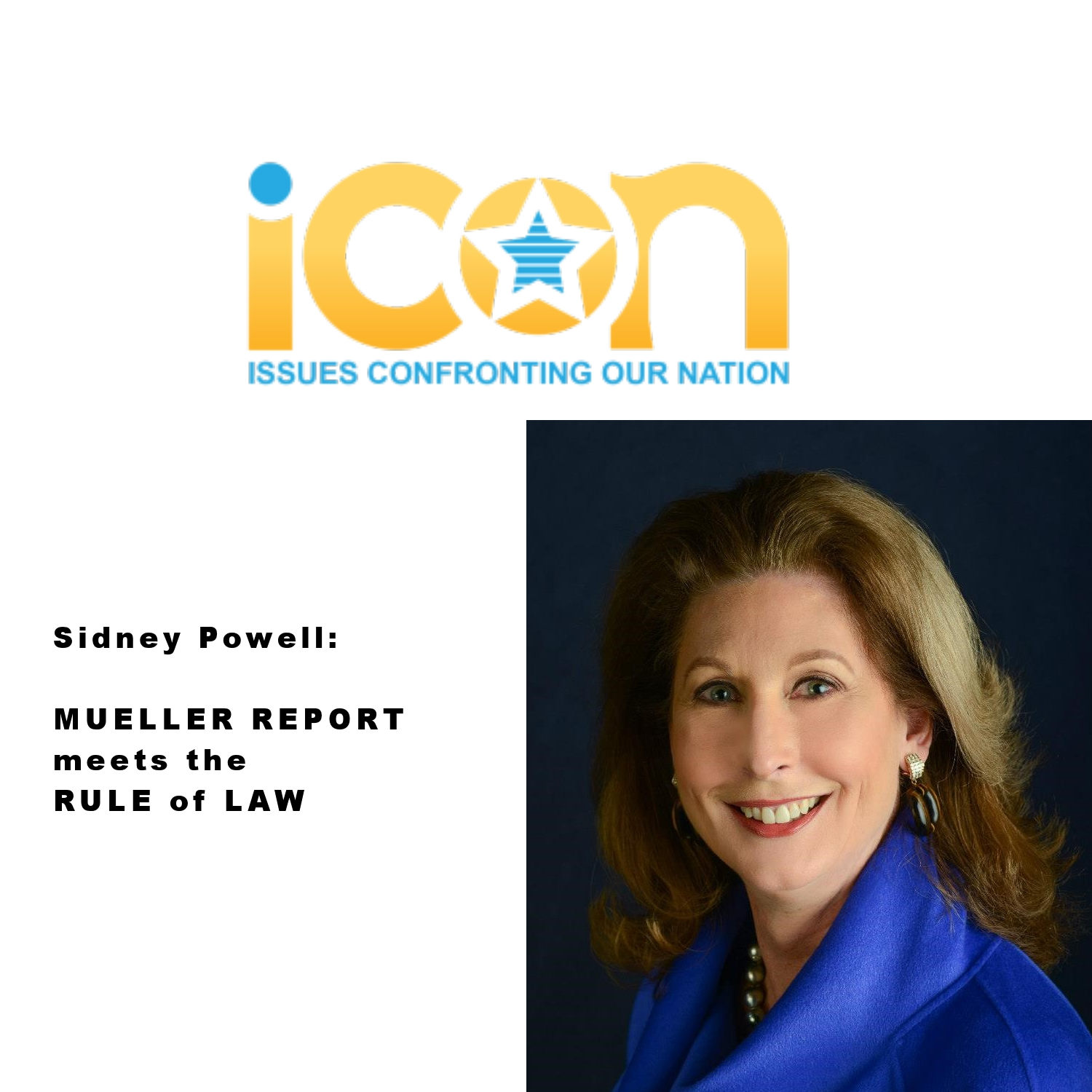 Sidney Powell speaks on Robert Mueller's Report